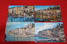 Portovenere La Spezia 7 Vedute Sul Porto Differenti - Italië