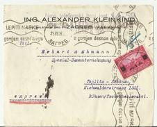 SLOWENIA CV ONLY FRONT 1924 - Slowenien