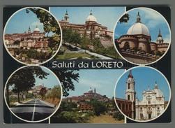 U8966 SALUTI DA LORETO VEDUTE (m) - Italia