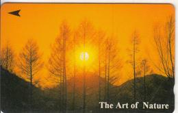 SINGAPORE(GPT) - The Art Of Nature/Sunset, CN : 41SIGC, Used