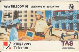 SINGAPORE(GPT) - Asia Telecom 93, CN : 1STAB, Used