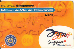 SINGAPORE(GPT) - MillenniaMania Rewards, CN : 1SZCR99, Used