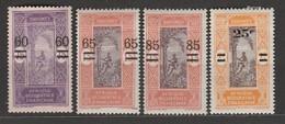 Dahomey N° 66 à 69 * - Unused Stamps