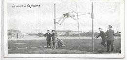 Sports - SAUT A LA PERCHE - Carte 13.5 X 6 Cm - Athlétisme