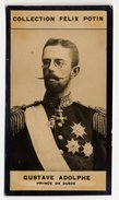 Collection Felix Potin - 1898 - REAL PHOTO - Gustave Adolphe, Prince De Suède Et Norvège (Sweden And Norway) - Félix Potin
