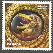 Sc. # 2924 Dinos Of Canada 2016 Single Used K023 - 1952-.... Règne D'Elizabeth II