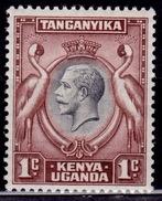 Kenya, Uganda & Tanganyika 1935, KGV - Kavirondo Cranes, 1c, MNH - Kenya, Uganda & Tanganyika