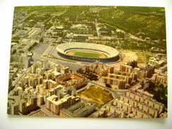 NAPOLI  STADIO STADION STADIUM STADE STADT  POSTCARD  USED   ITALY ITALIE - Fussball
