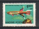 Hungary 1962. ERROR: Animals / Fishes Stamp 1962. Year 2x MNH (**) Michel: 1827IA / 1.70 EUR - Unused Stamps
