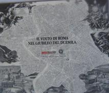 FOLDER TELECOM ROMA GIUBILEO 2000 -C&C 33312/15FU-VUOTO