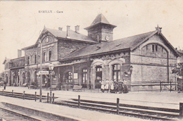 Cpa Remilly - Gare - France