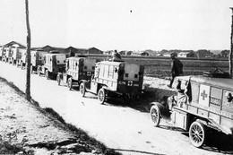 Militaria WW1 - Convoi D'ambulances Offertes Par Les USA - 1914-18
