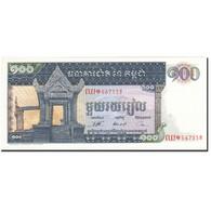 Cambodge, 100 Riels, 1962-1963, Undated (1963-1972), KM:12b, SPL - Cambodia