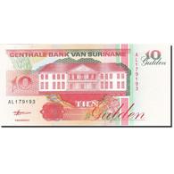 Surinam, 10 Gulden, 1991-1997, 1998-02-10, KM:137b, NEUF - Surinam