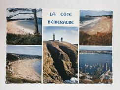Postcard La Cote D'Emeraude & Lighthouse France My Ref B21219 - France