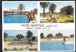 1982 Tunisia, Nabeul, Hotel Neapolis, Mailed To Czechoslovakia - Tunisia