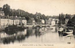 D29  PONT- AVEN  Le Port- Vue Générale   ..... - Pont Aven