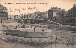 NANTES -Marée Basse à La Petite Hollande  - Le Pont Maudit - Nantes