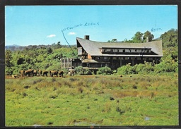 1984 Kenya The Ark & Aberdare Country Club, Mailed To Czechoslovakia - Kenya