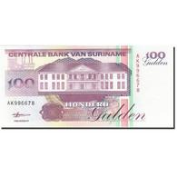 Surinam, 100 Gulden, 1991-1997, 1998-02-10, KM:139b, NEUF - Surinam
