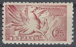 España 0952 ** Pegaso. Urgente. Sin Pie De Imprenta. 1942 - 1931-Hoy: 2ª República - ... Juan Carlos I