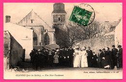 Olonne - Une Noce Vendéenne - Animée - Mariés - Éditeur PONS N° 419 - 1912 - Sables D'Olonne