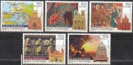 San Marino 1999 Michel 1840 - 1844 Neuf ** Cote (2006) 5.00 Euro Voyages Des Pèlerins - San Marino