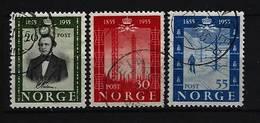 NORWEGEN - Mi-Nr. 387 - 389 - 100 Jahre Telegraphie In Norwegen Gestempelt - Norwegen
