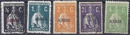 170027177  AZORES.  YVERT   Nº  154B/155/160B/161/164A - Azores