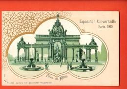 IBS-06 Exposition Universelle De Paris 1900 Litho Palais Des Millions.  Non Circulé - Exposiciones