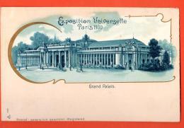 IBS-09 Exposition Universelle De Paris 1900 Litho Le Grand Palais .  Non Circulé - Exposiciones