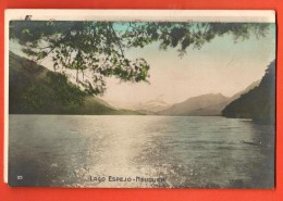 IBS-12  Lago Espejo Neuquen.  Used In 1911 To Roubaix France. - Argentinien