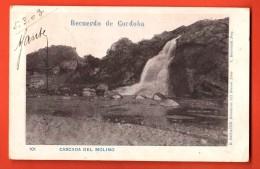 IBS-14 Recuerdo De Cordoba. Cascada Del Molino. Pioneer. Used In 1903 To Roubaix France - Argentina