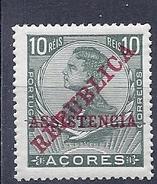 170027185  AZORES.  YVERT    Nº  137  MH/* - Azores