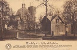 Scherpenheuvel, Montaigu, Eglise Et Fontaine (pk34652) - Scherpenheuvel-Zichem