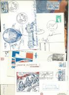 ESPACE: Lot De 13 Doc. Philat. (1 Dble) Av Thème Sur L'espace, TB - Space