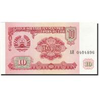 Tajikistan, 10 Rubles, 1994, 1994, KM:3a, NEUF - Tadjikistan