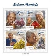 SIERRA LEONE 2015 SHEET NELSON MANDELA NOBEL PRIZE Srl15712a - Sierra Leone (1961-...)