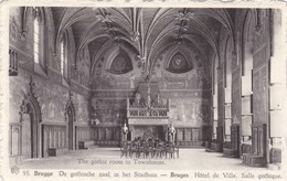 Brugge, Bruges De Gotische Zaal In Het Stadhuis (pk34676) - Brugge