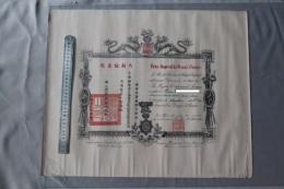 Certificat De Chevalier De L'ordre Du Dragon D'annam 1936 Avec Sa Lettre D'envoi En Bambou  INDOCHINE - Autres Pays