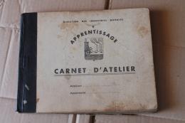 Carnet D'atelier De La Direction Des Construction Navale 1942 - 1939-45
