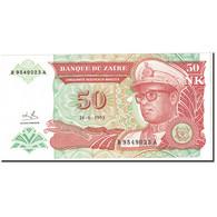 Zaïre, 50 Nouveaux Makuta, 1993, KM:51, NEUF - Zambia