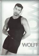 WOLFF - Underwear,fashion Postcard.Macho - Pubblicitari