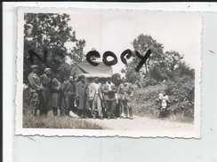 21 SEMUR   PHOTO   ALLEMANDE 1940  PRISONNIERS - Semur