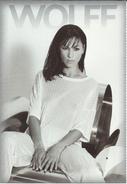 WOLFF - Fashion Postcard.Girl.Model - Publicidad