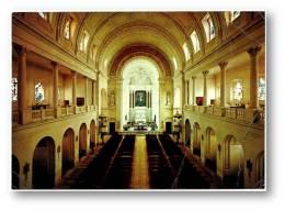 FÁTIMA 1975 - Interior Da Basílica - Stamp Egas Moniz & Cancel - Ed. CC N.º 390 - Ourém Portugal - Santarem
