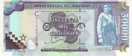 PARAGUAY 50000 GUARANIES 2005 P-231a UNC [PY850a] - Paraguay