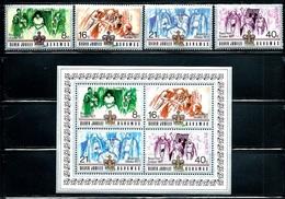 """Bahamas   """"Royal Visit""""    Set & Souv. Sheet   SC# 412-15a  MNH** - Bahamas (1973-...)"""