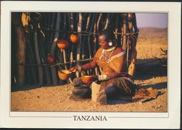 °°° GF238 - TANZANIA - TATOGA WOMAN LAKE EASY - With Stamps °°° - Tanzania