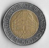 Italy 1996 500 Lire [C351/1D] - 1946-… : Republic